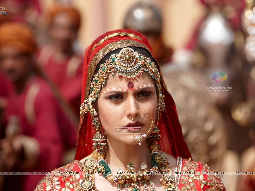 Zarine Khan looking worried (39878) size:1024x768