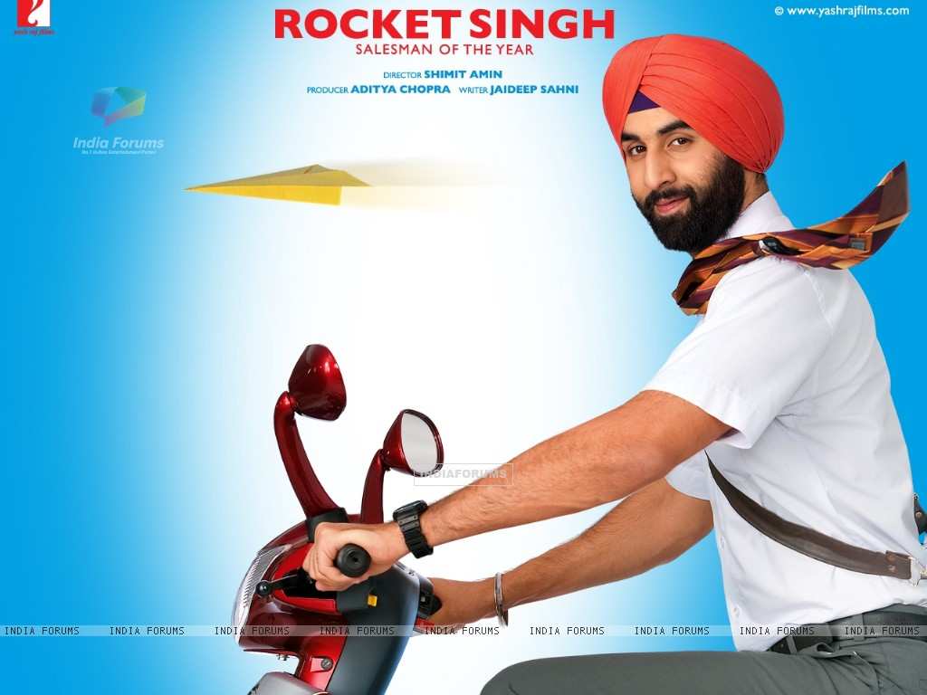 Rocket Singh: Salesman of the Year movie wallpaper with Ranbir (40057) size:1024x768