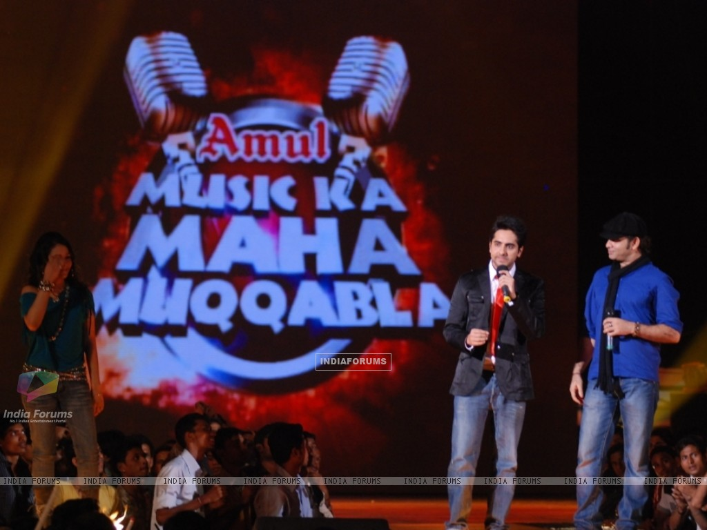 Still from the show Music Ka Maha Muqqabla (41751) size:1024x768