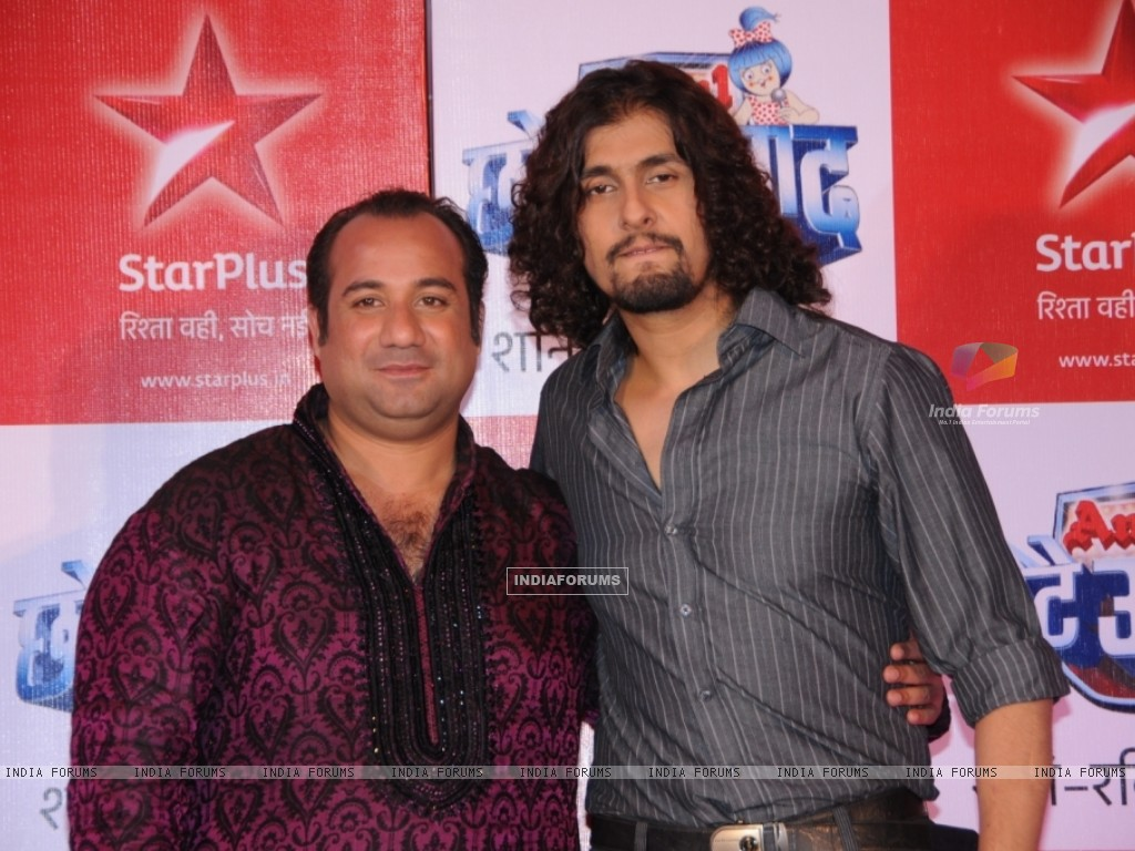 Rahat Fateh Ali Khan & Sonu Nigam as a judges (91247) size:1024x768