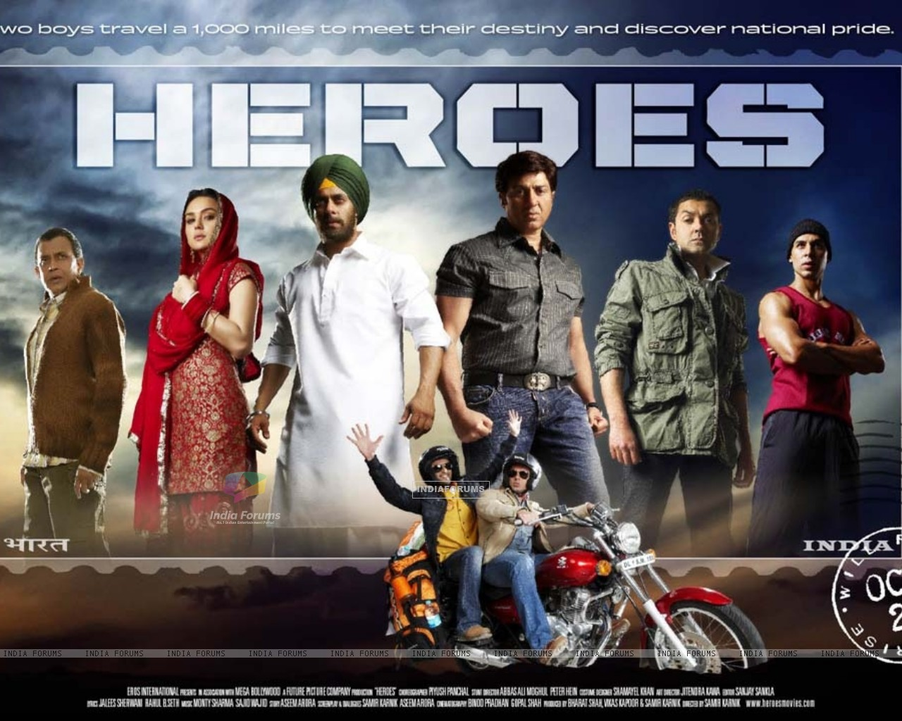 Wallpaper of Heroes movie (11979) size:1280x1024