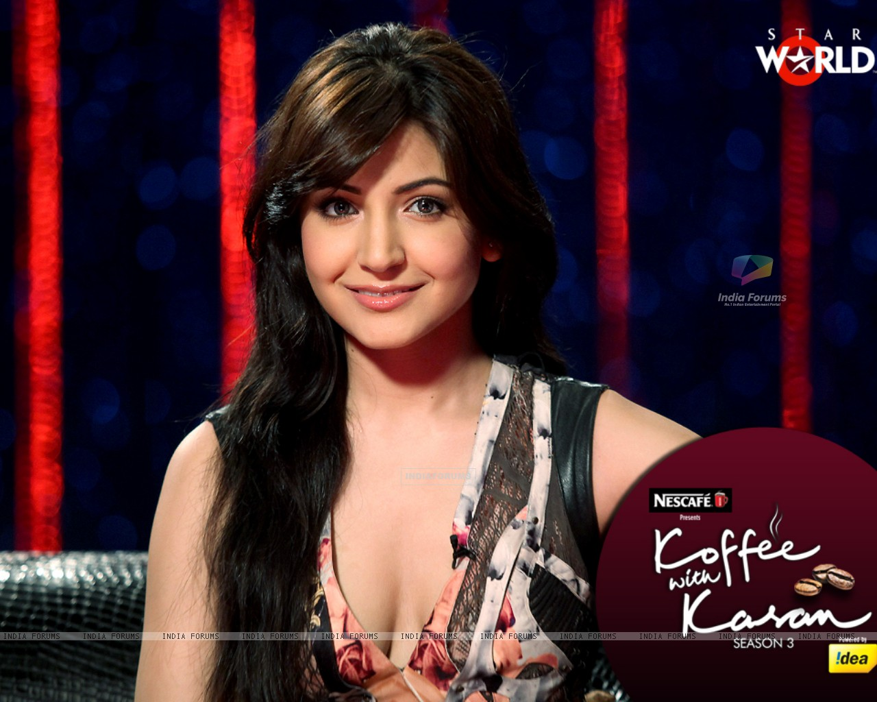 Anushka Sharma on Koffee with Karan Season 3 (147318) size:1280x1024