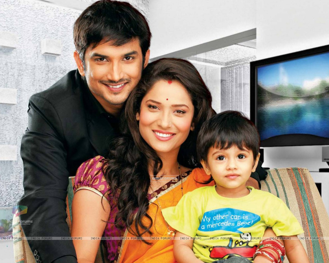 Sushant and Ankita as Manav and Archana in Pavitra Rishta (151379) size:1280x1024