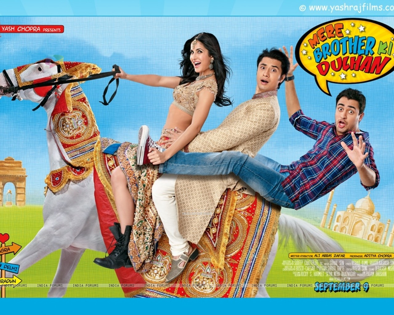 Poster of Mere Brother Ki Dulhan movie (151773) size:1280x1024
