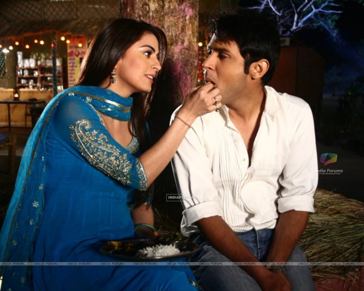 Shraddha Arya and Sudeep Sahir from Main Lakshmi tere Angan ki (183022) size:1280x1024
