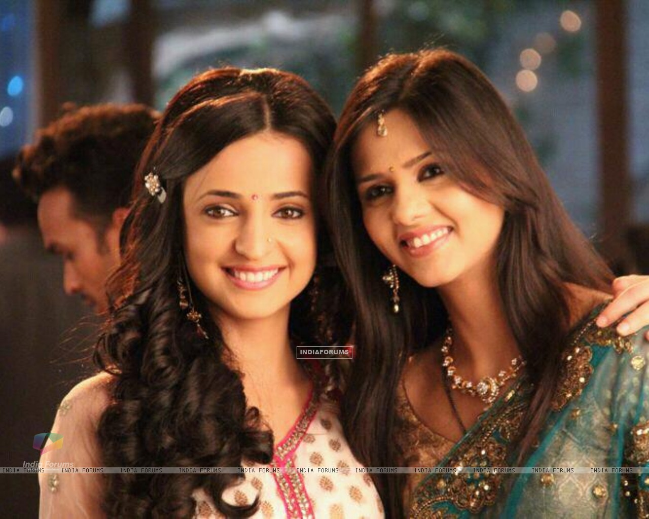 Daljeet with Sanaya on set (183549) size:1280x1024