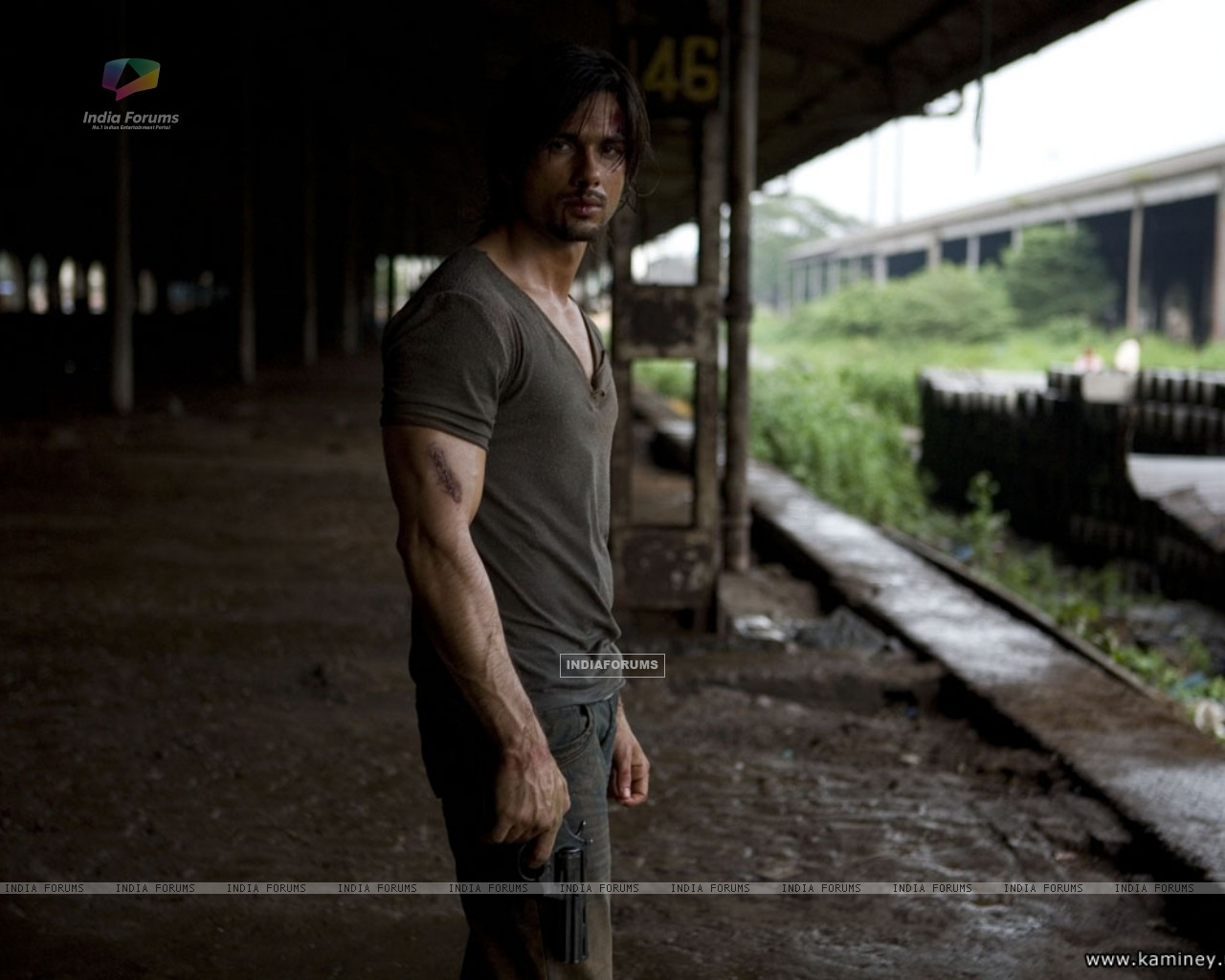 Shahid Kapoor in Kaminey movie (20355) size:1280x1024