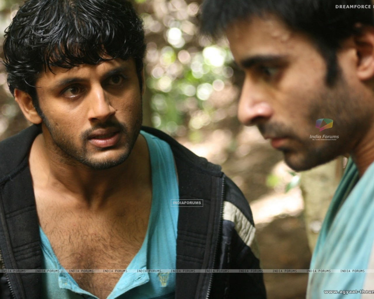 Nitin shouting on Gautam Rode (20394) size:1280x1024