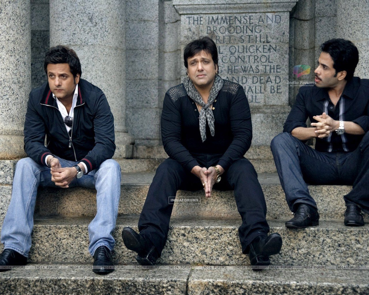 Govinda, Fardeen, Tusshar in movie Life Partner (20429) size:1280x1024