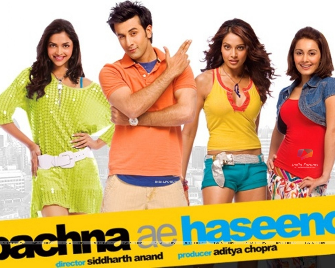 Wallpaper of Bachna Ae Haseeno movie (20514) size:1280x1024