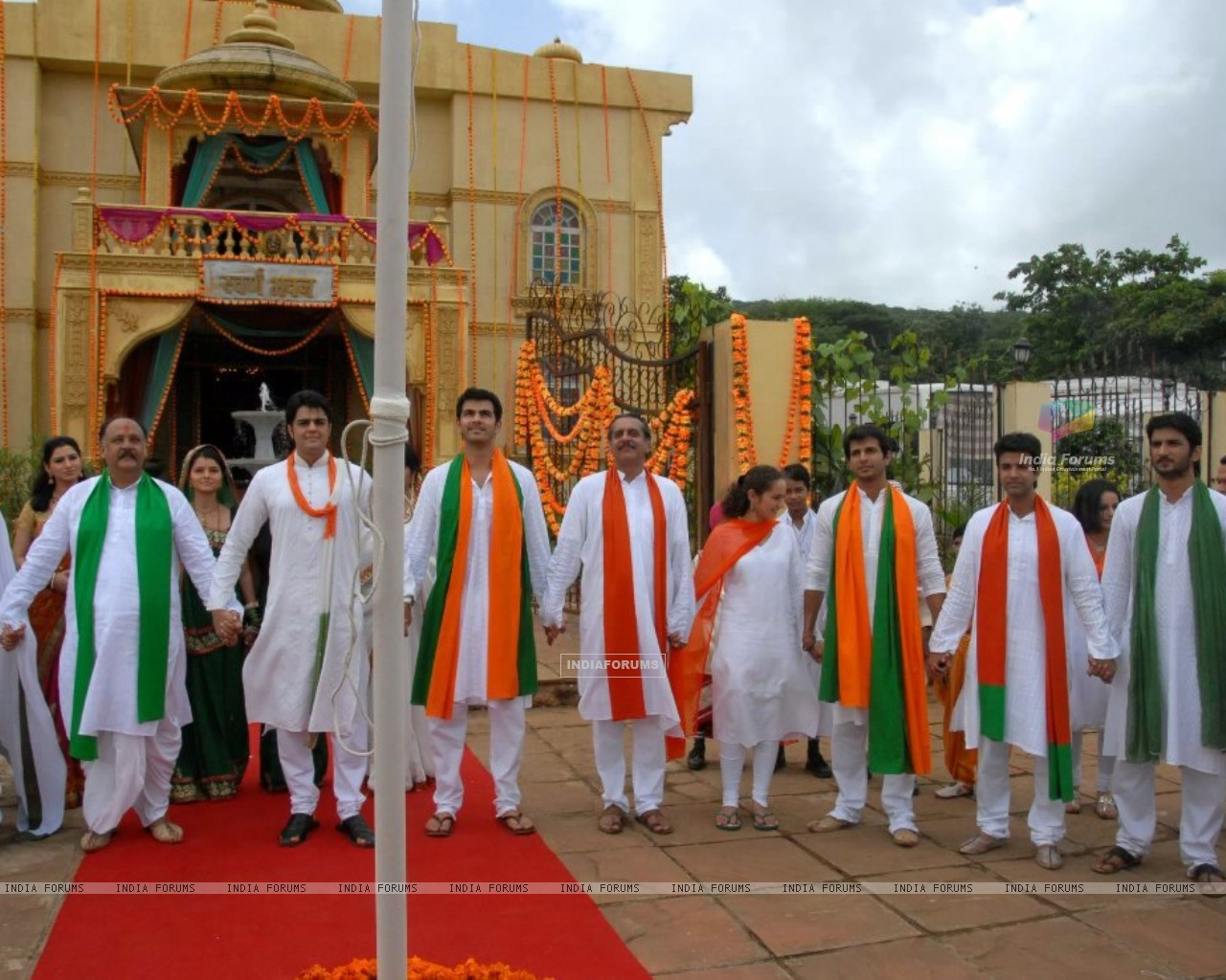 Zee Tv Stars Celebrating Republic Day (209009) size:1280x1024