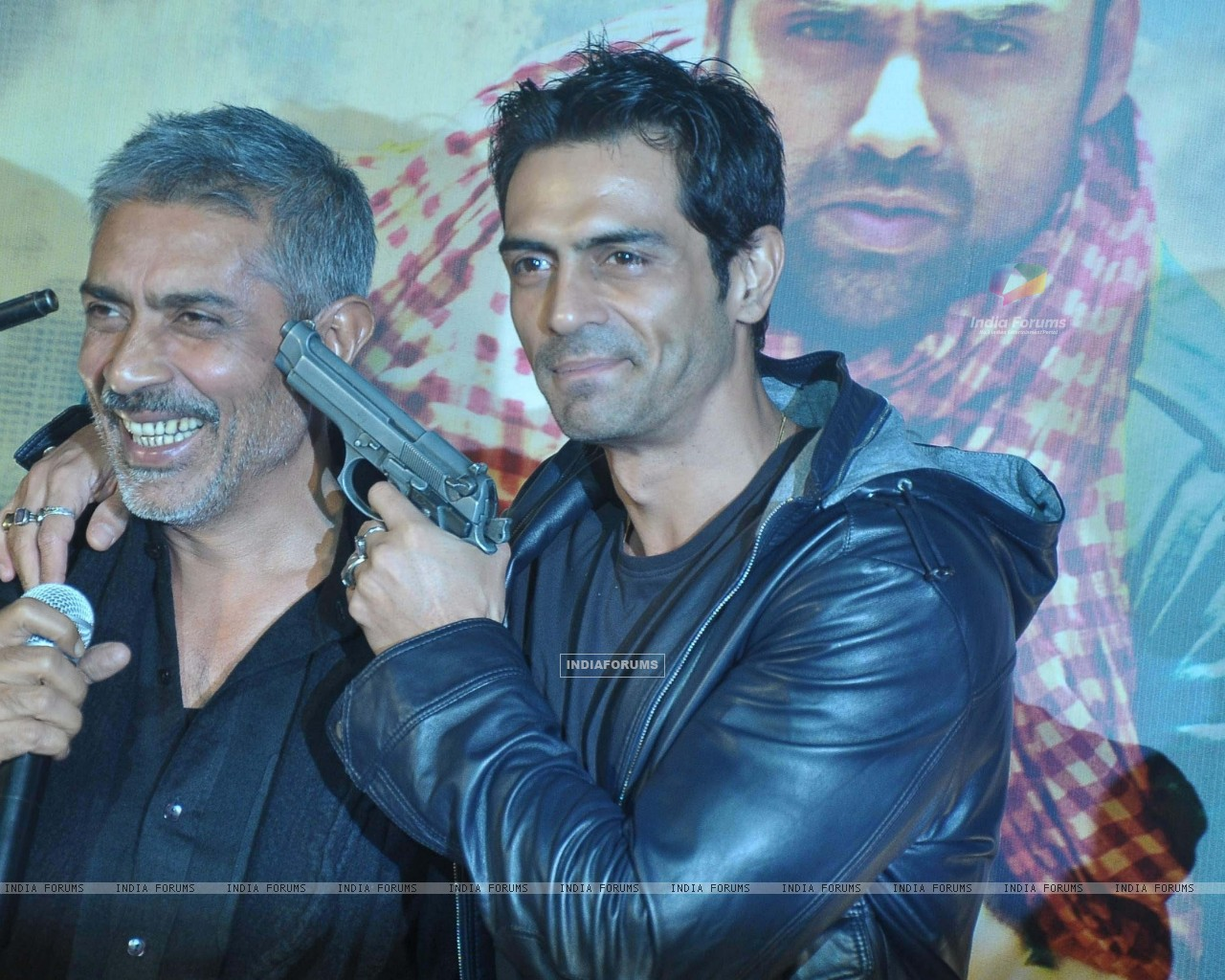 Bollywood actor Arjun Rampal at the launch of Prakash Jha's 'Chakravyuh' in Cinemax, Mumbai. . (220477) size:1280x1024