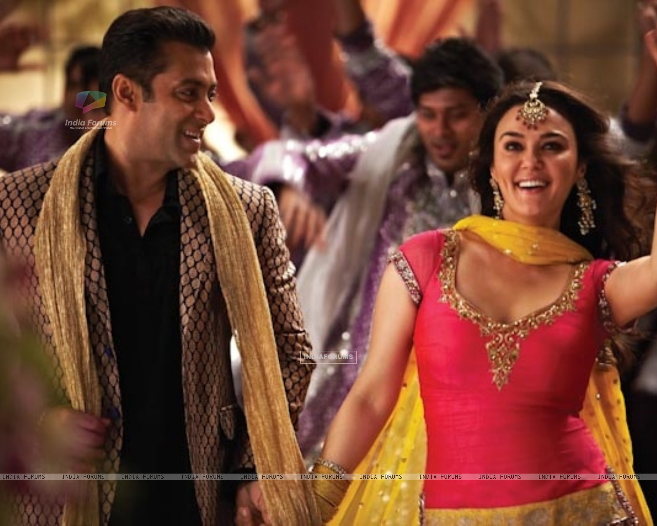 Preity Zinta and Salman Khan in Ishkq In Paris (224984) size:1280x1024
