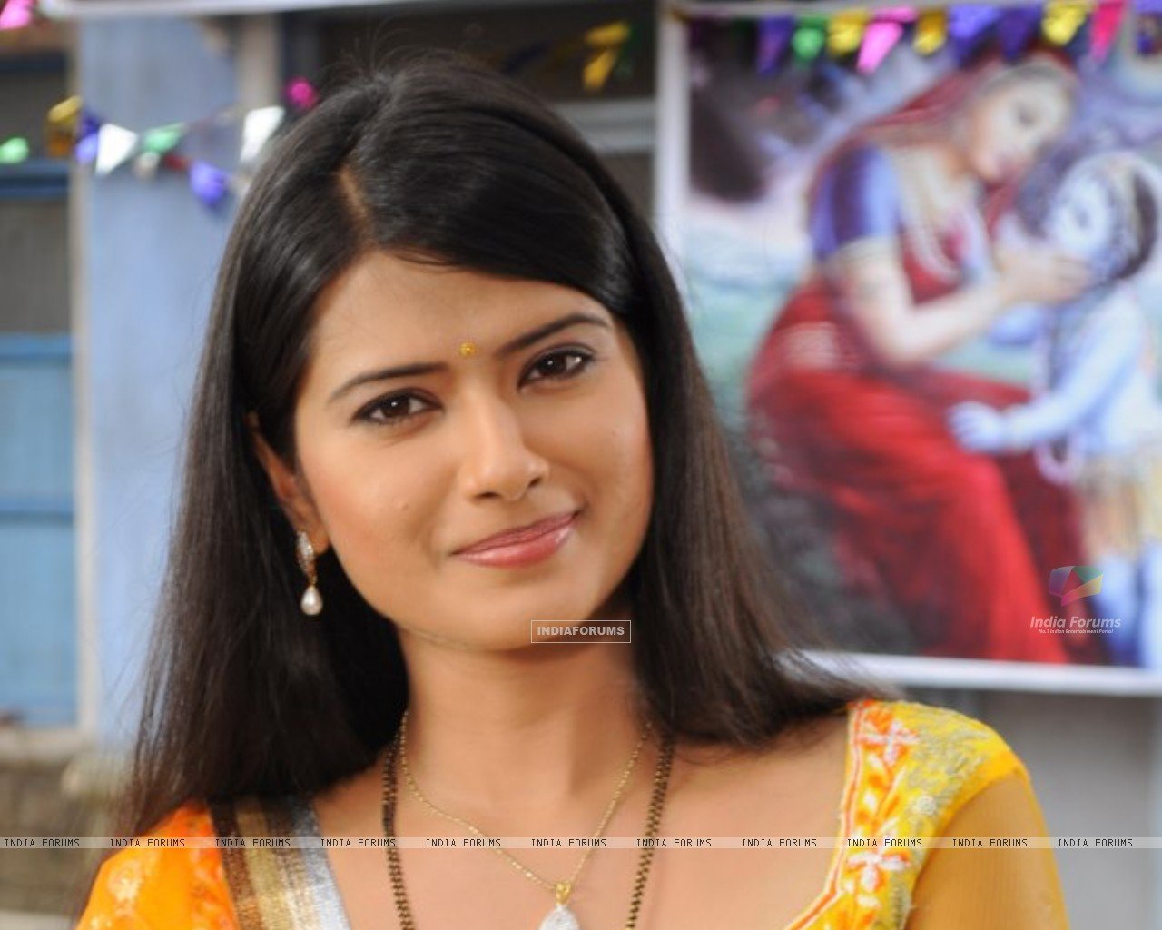 Kratika Sengar on the sets of Punar Vivah (232566) size:1280x1024