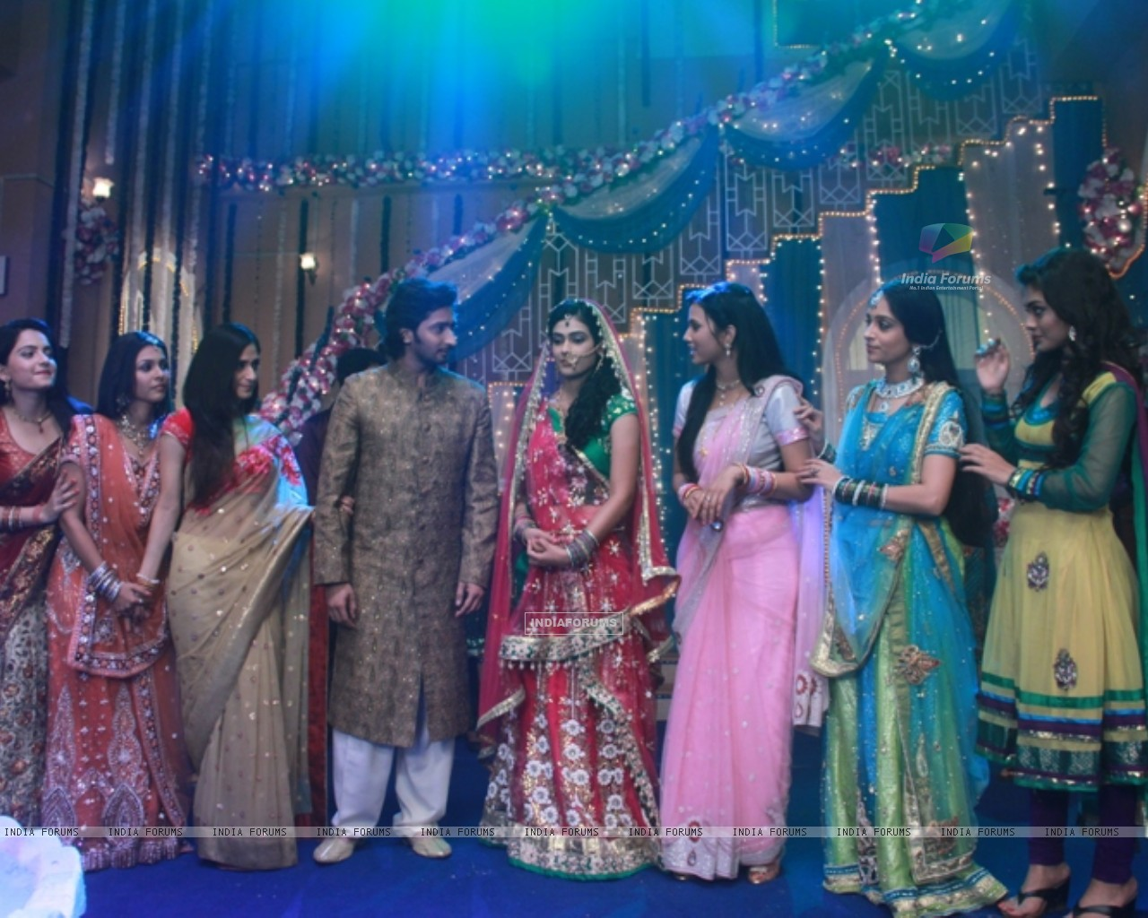 Sangeet ceremony of Mohan and Megha (233022) size:1280x1024