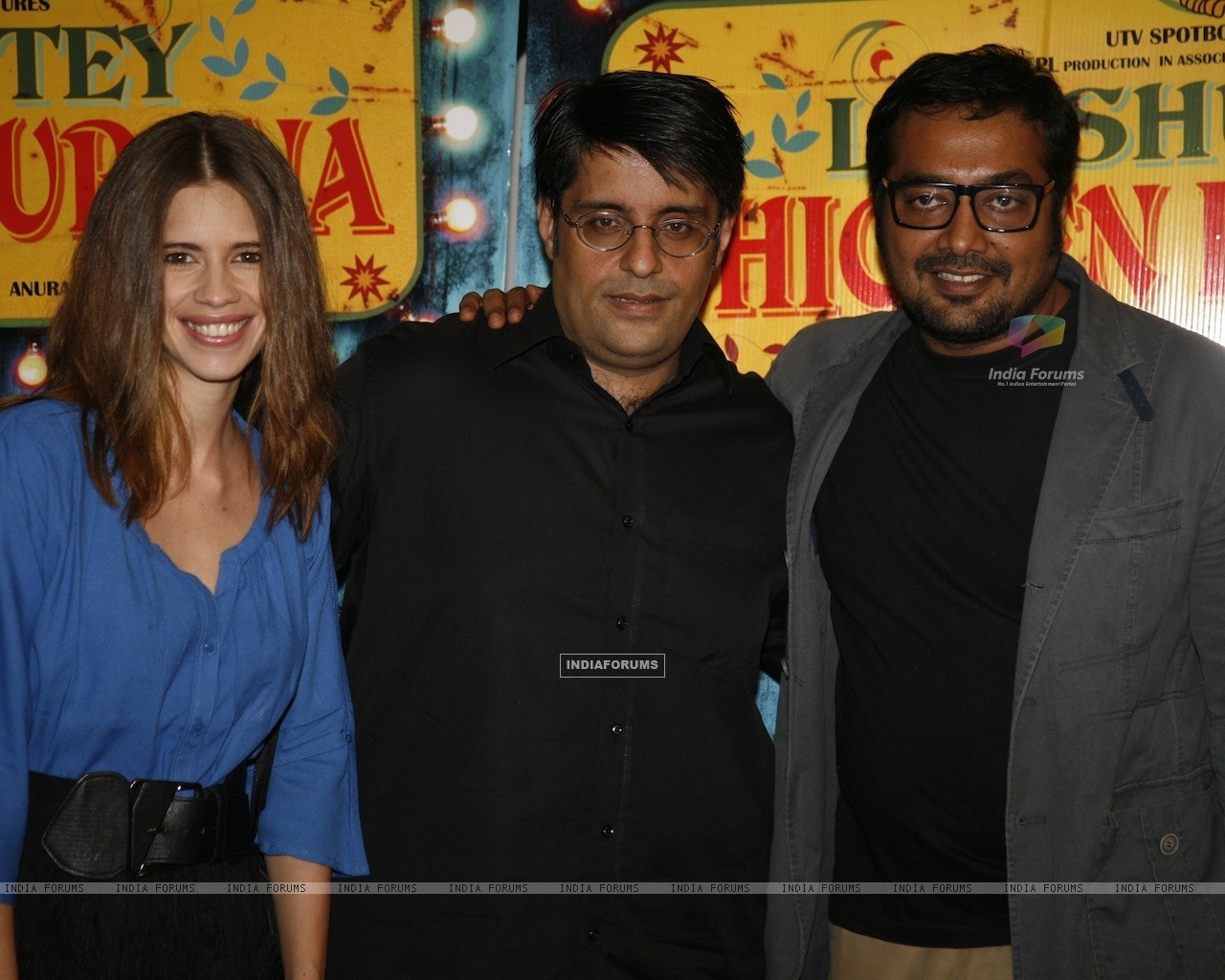 Kalki Koechlin, Anurag Kashyap at Special Screening of Luv Shuv Tey Chicken Khurana (236044) size:1280x1024