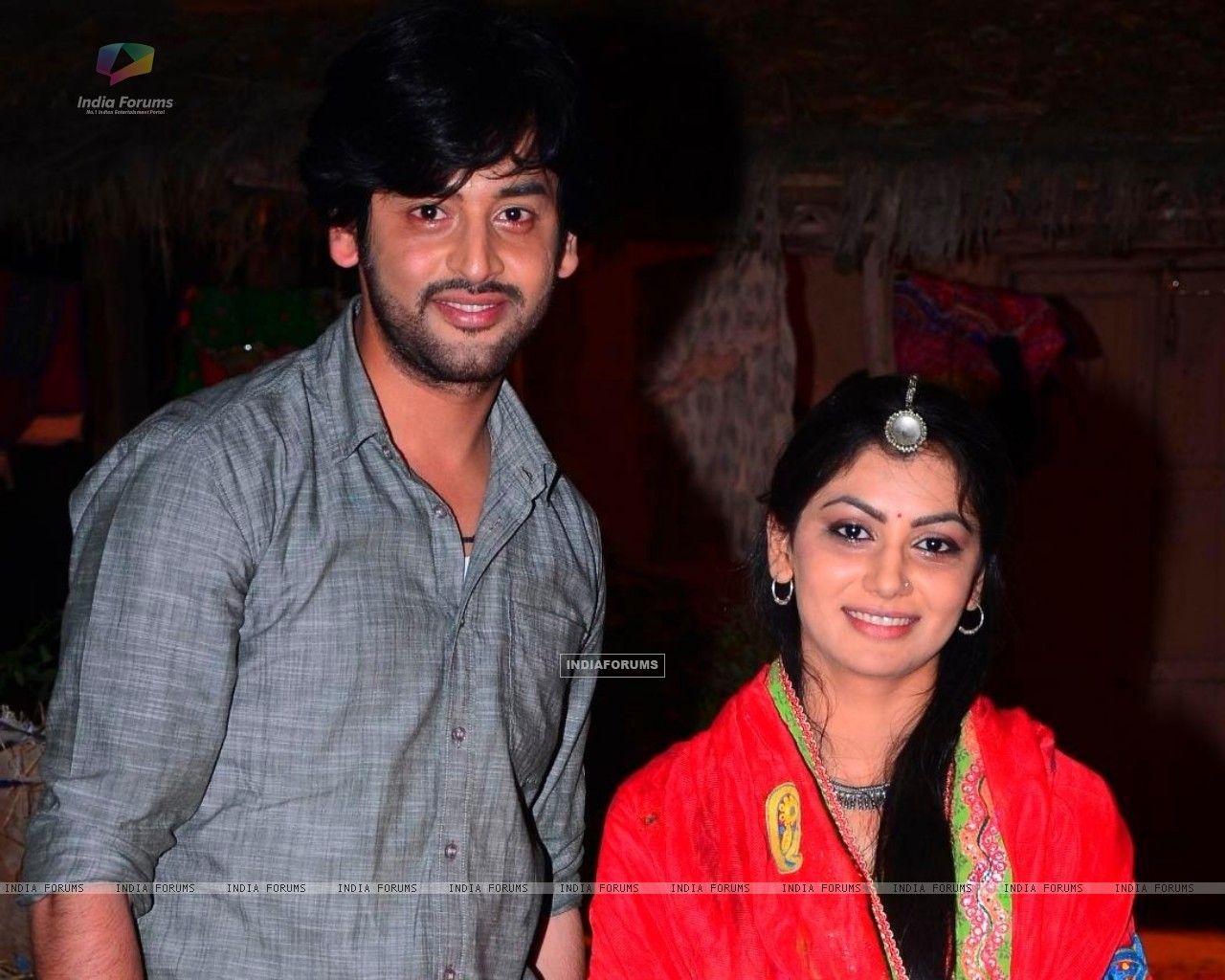 Shashank Vyas and Sriti Jha as Jagya and Ganga in Balika Vadhu (258828) size:1280x1024