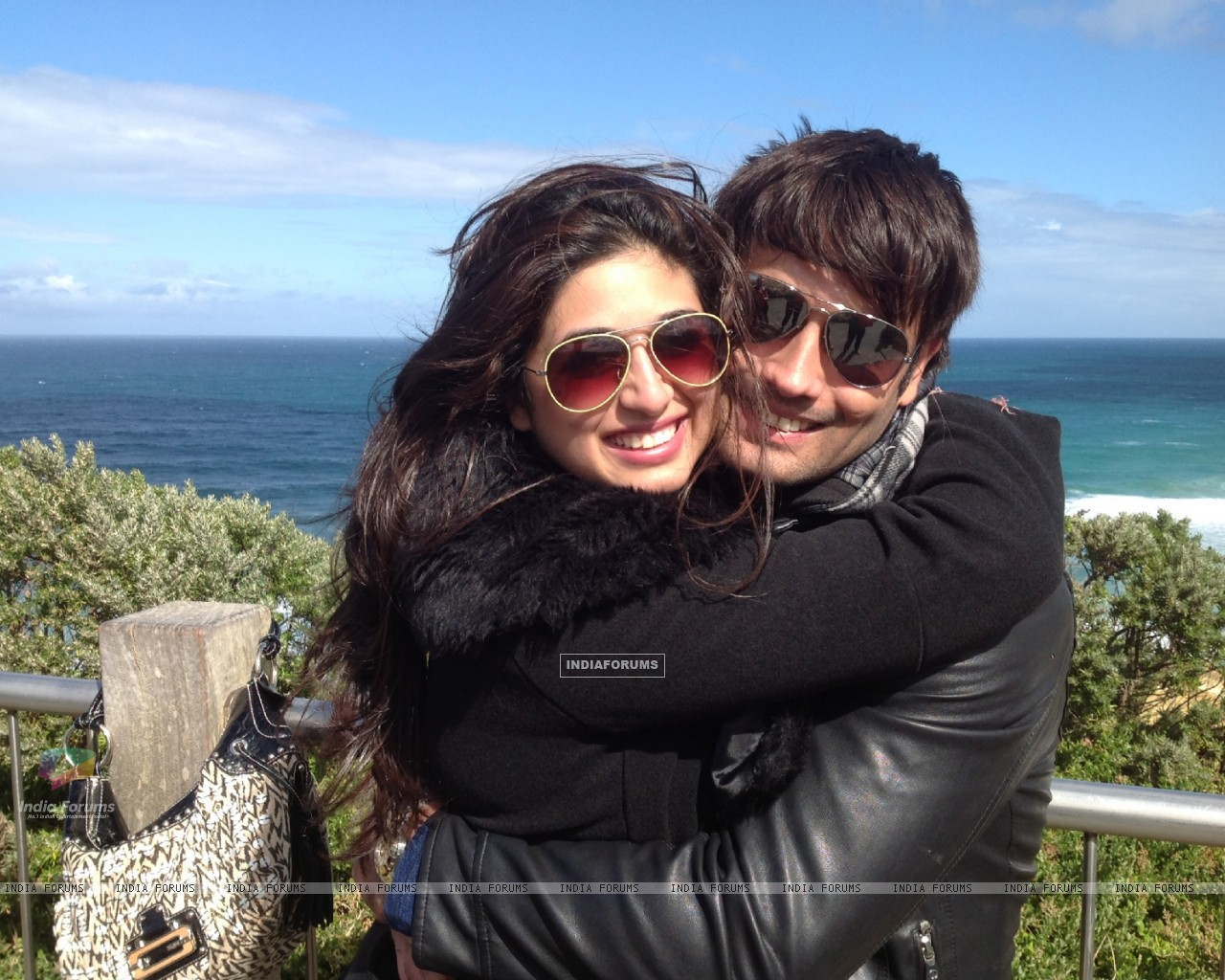 Vivian Dsena and Vahbbiz�s rocking honeymoon in Australia (274865) size:1280x1024
