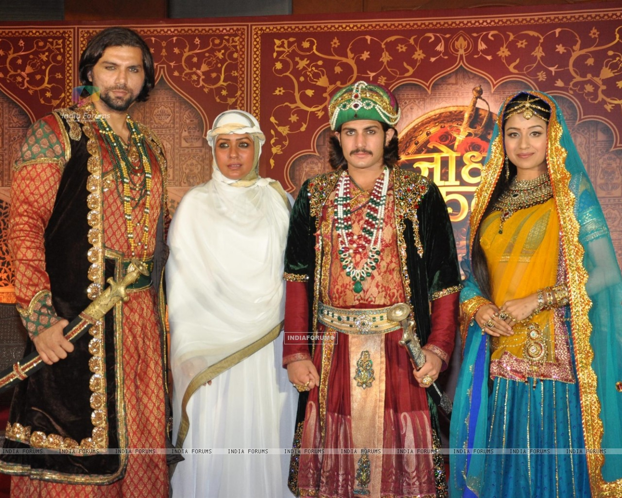 Zee TV New Show Jodha Akbar Launch - Wallpaper (Size:1280x1024)