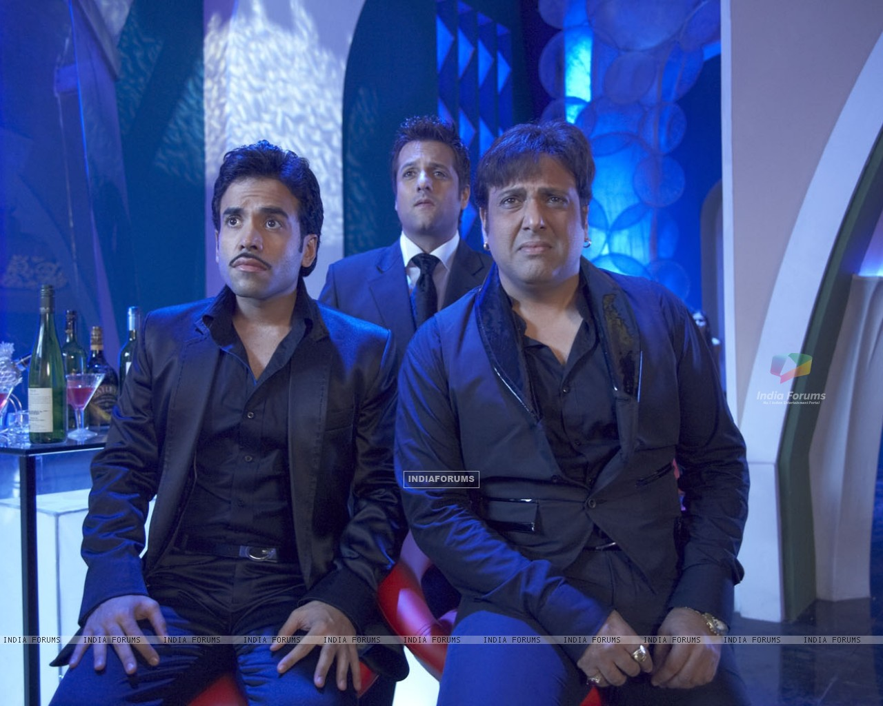 Govinda,Fardeen and Tusshar looking shocked (31366) size:1280x1024