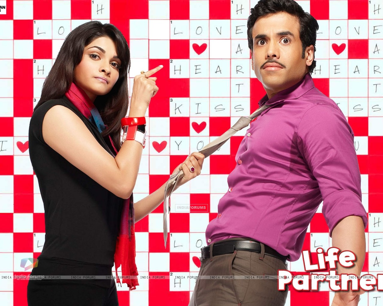 Life Partner wallpaper with Tusshar and Prachi (31423) size:1280x1024