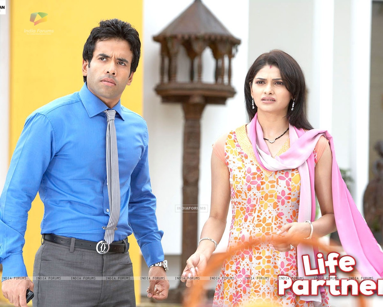 Life Partner movie wallpaper starring Tusshar and Prachi (31434) size:1280x1024