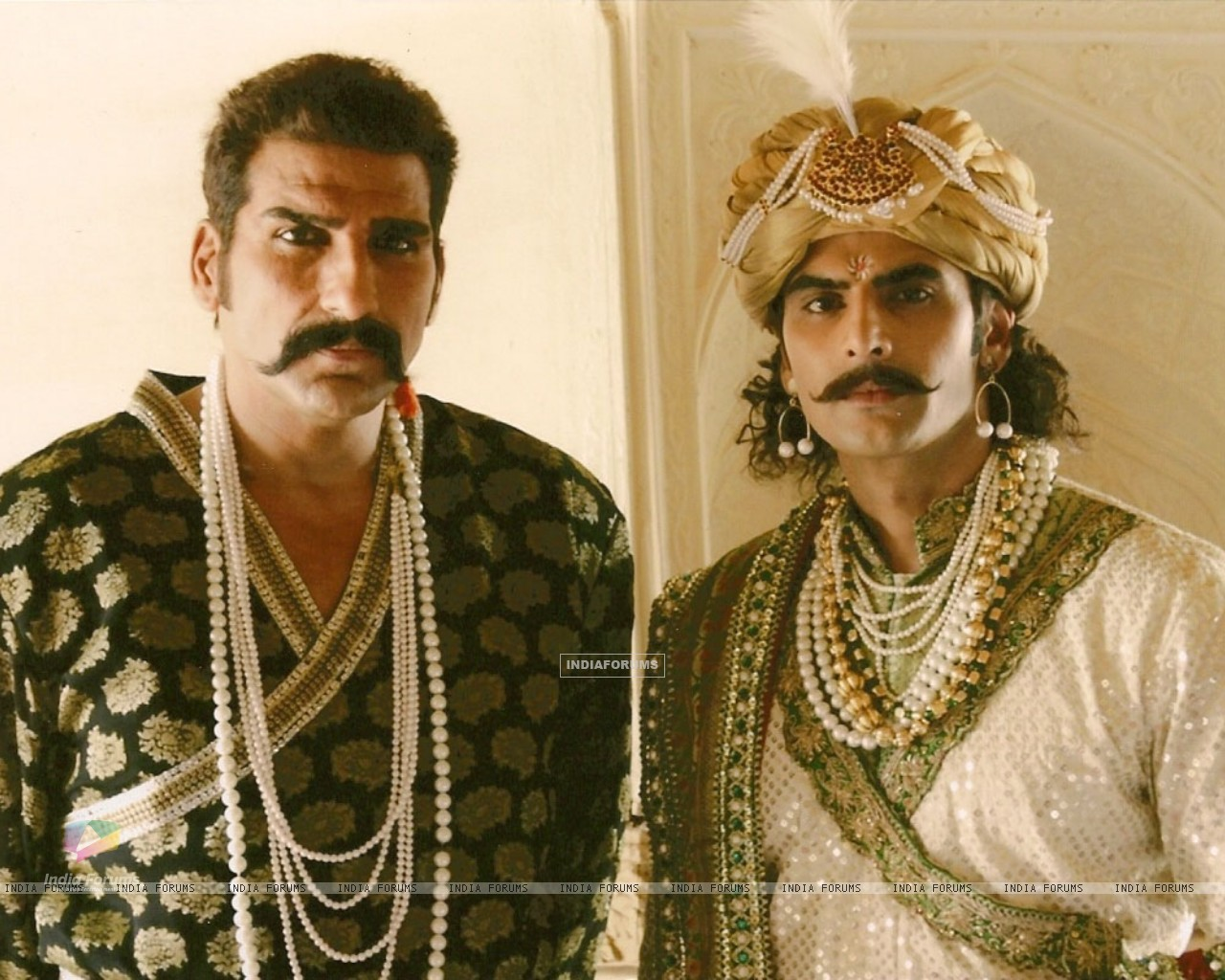 A still image of Ratan Singh and Alauddin Khilji (36797) size:1280x1024
