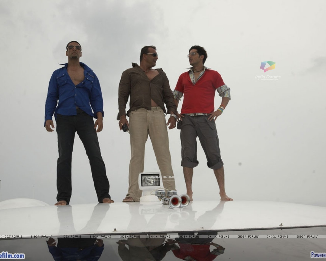 Akshay Kumar, Zayed Khan and Sanjay Dutt (37781) size:1280x1024