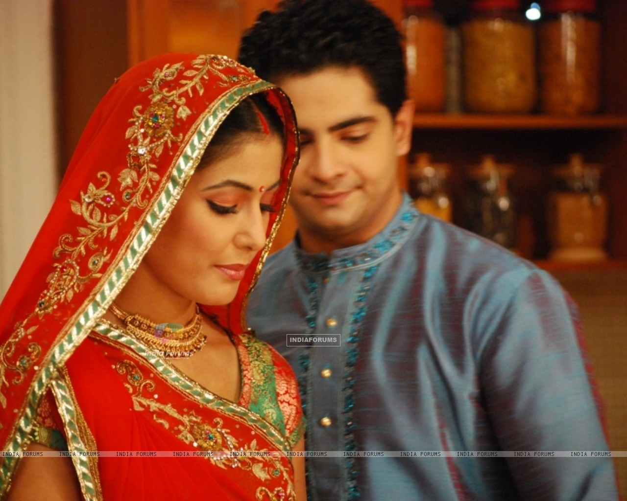 Lovable Scene of Akshara and Natik (40472) size:1280x1024