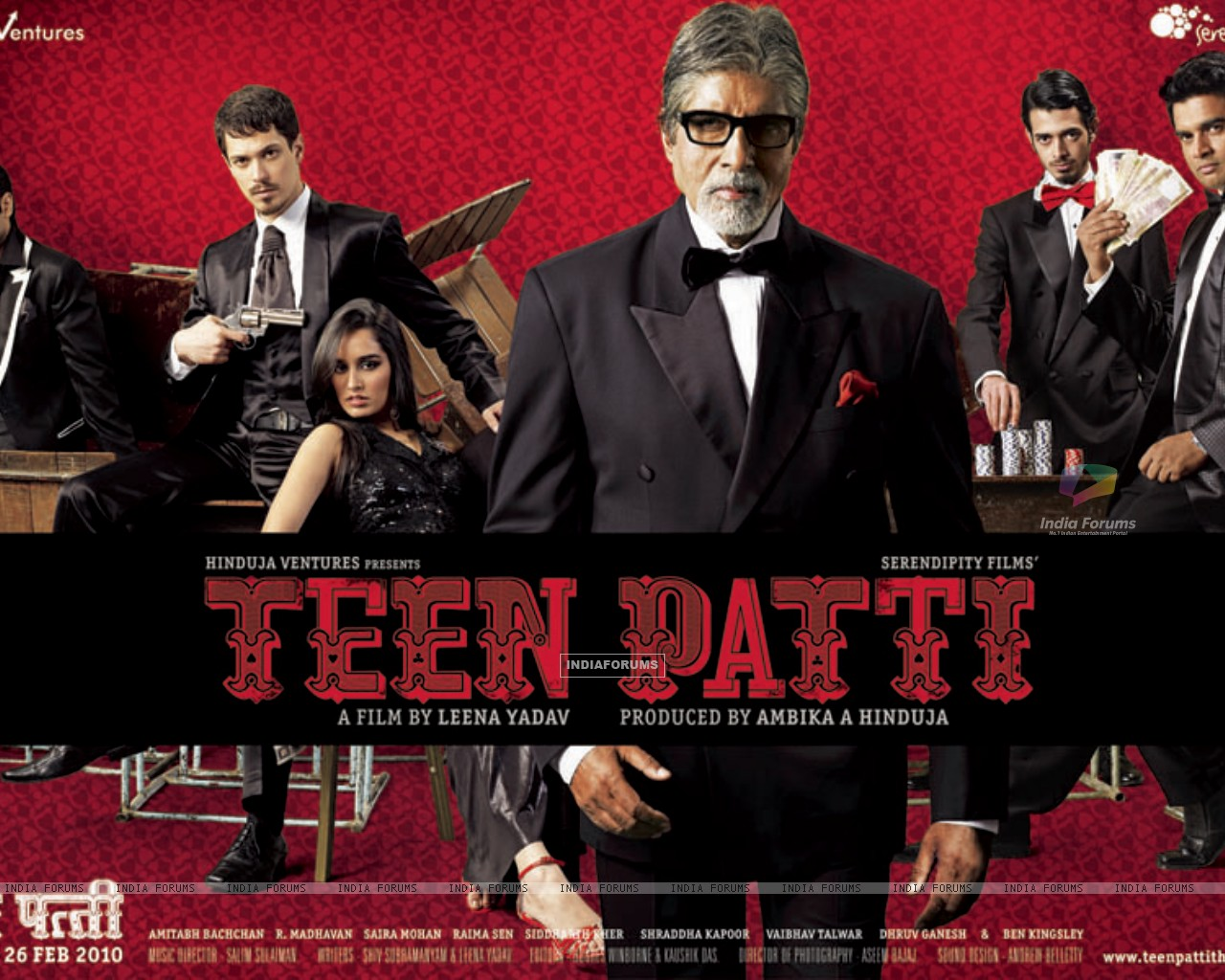 Wallpaper of Teen Patti movie (41713) size:1280x1024