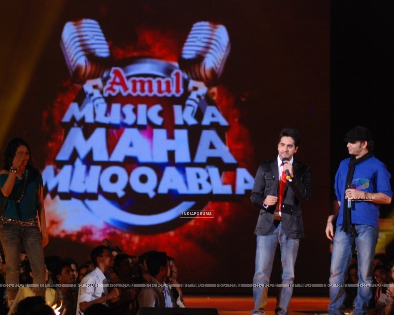 Still from the show Music Ka Maha Muqqabla (41751) size:1280x1024