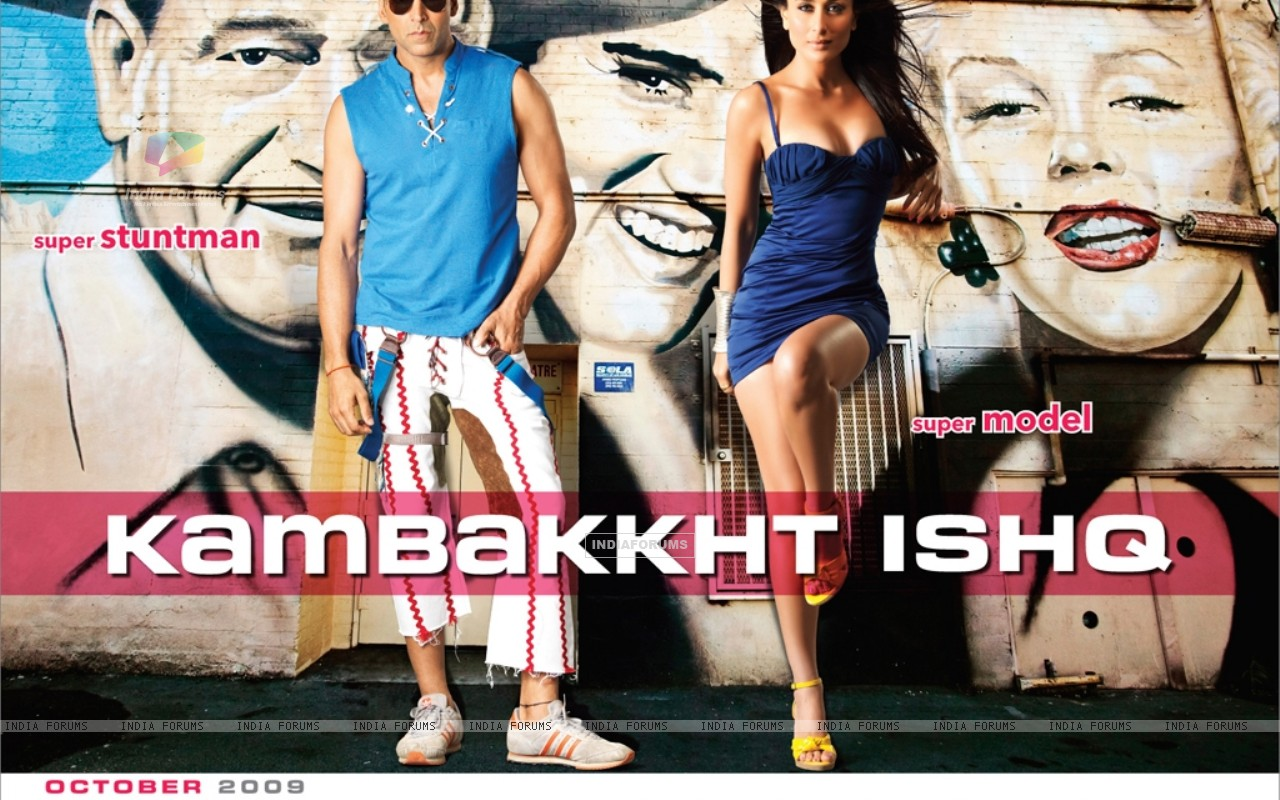 Akshay Kumar and Kareena Kapoor in Kambakth Ishq (10946) size:1280x800