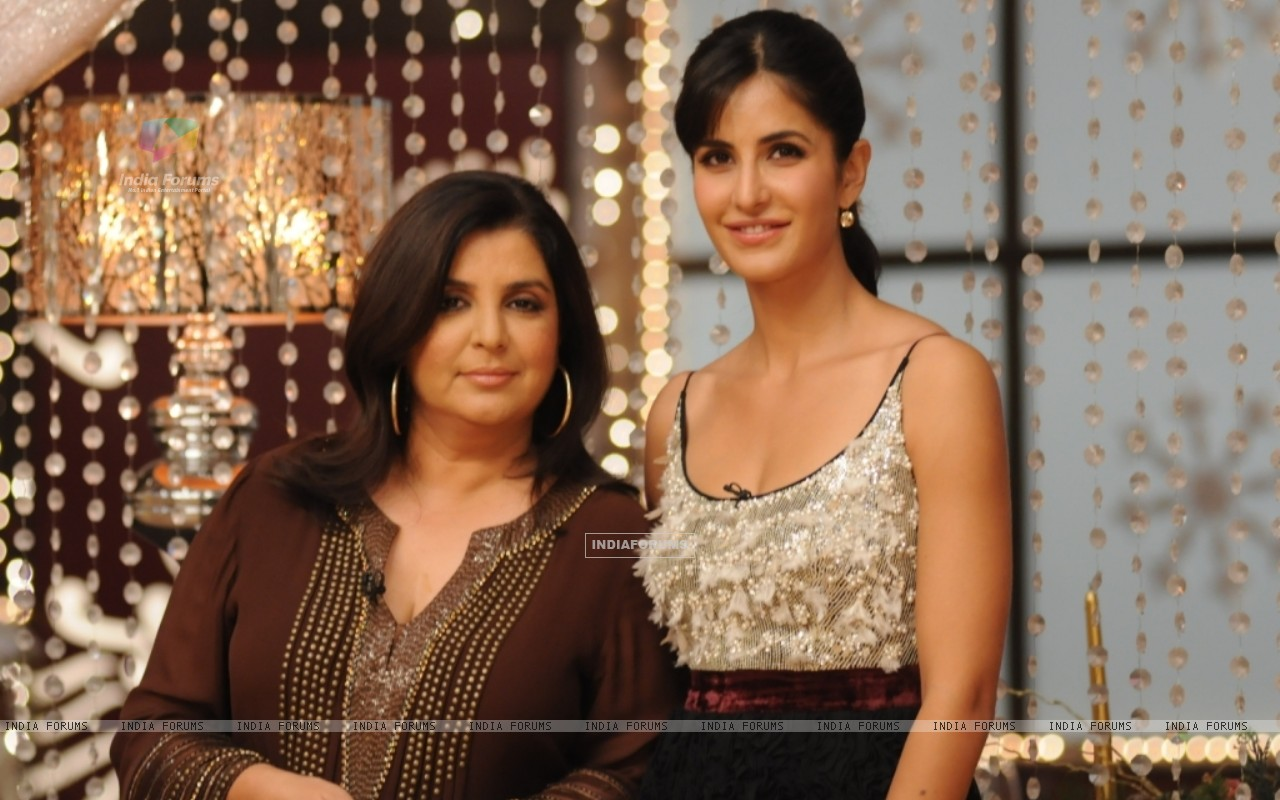 Farah Khan and Katrina Kaif at MasterChef set for Grand Finale (113289) size:1280x800