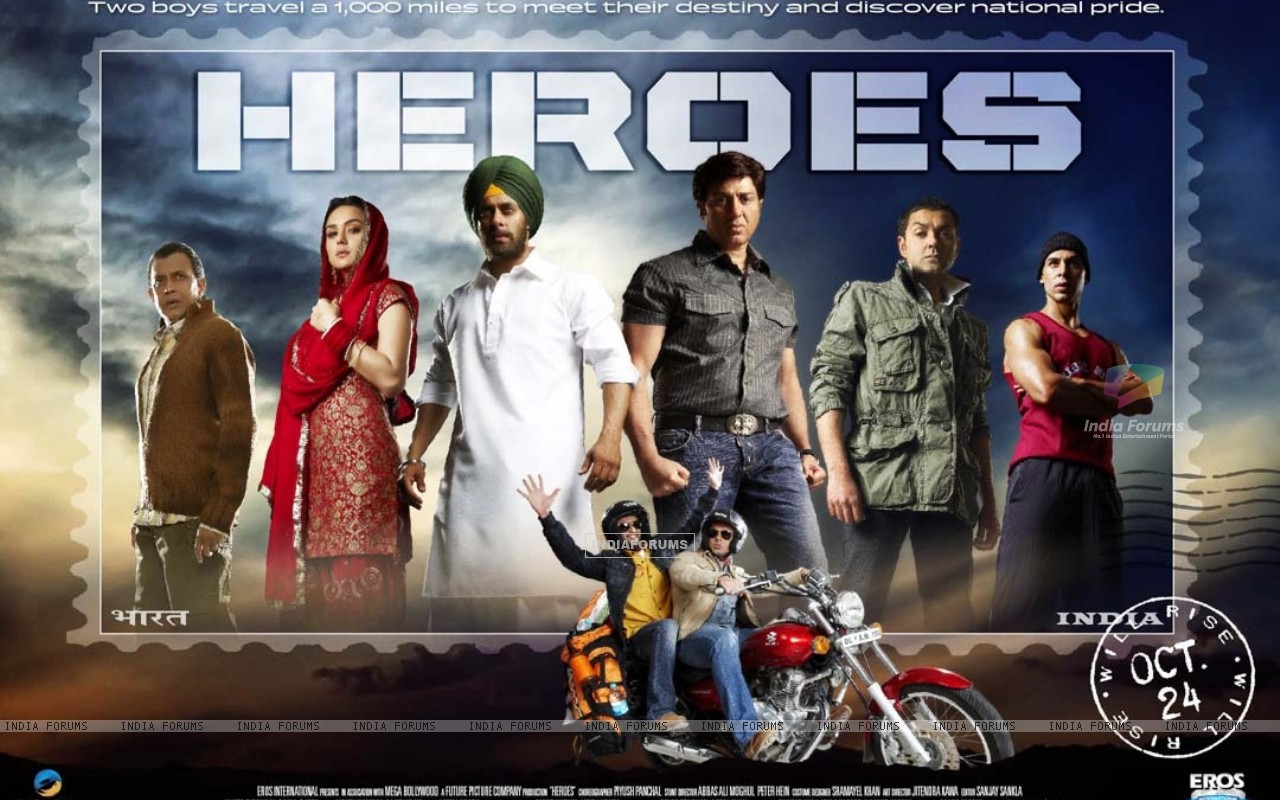 Wallpaper of Heroes movie (11979) size:1280x800