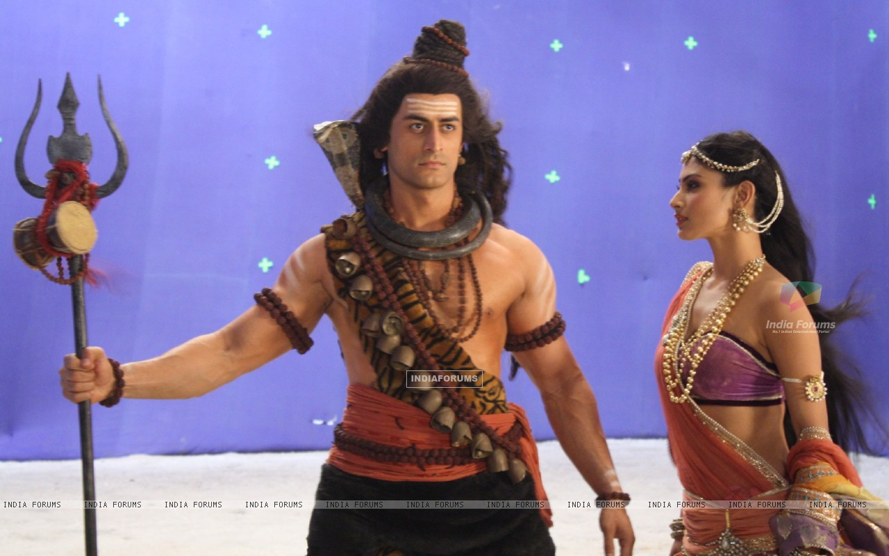 Still image of Shiv & Sati from Devon Ke Dev. Mahadev (180971) size:1280x800