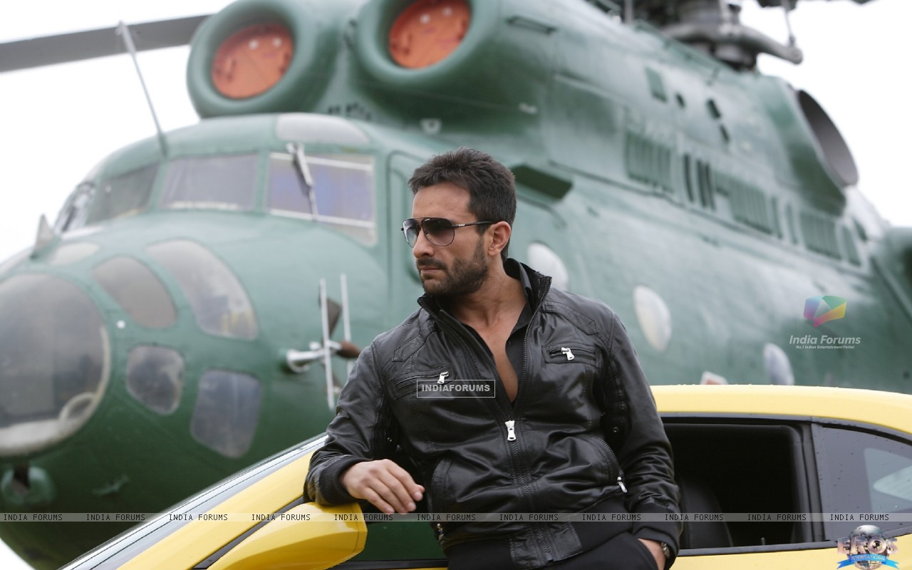Saif Ali Khan in the movie Agent Vinod (181831) size:1280x800