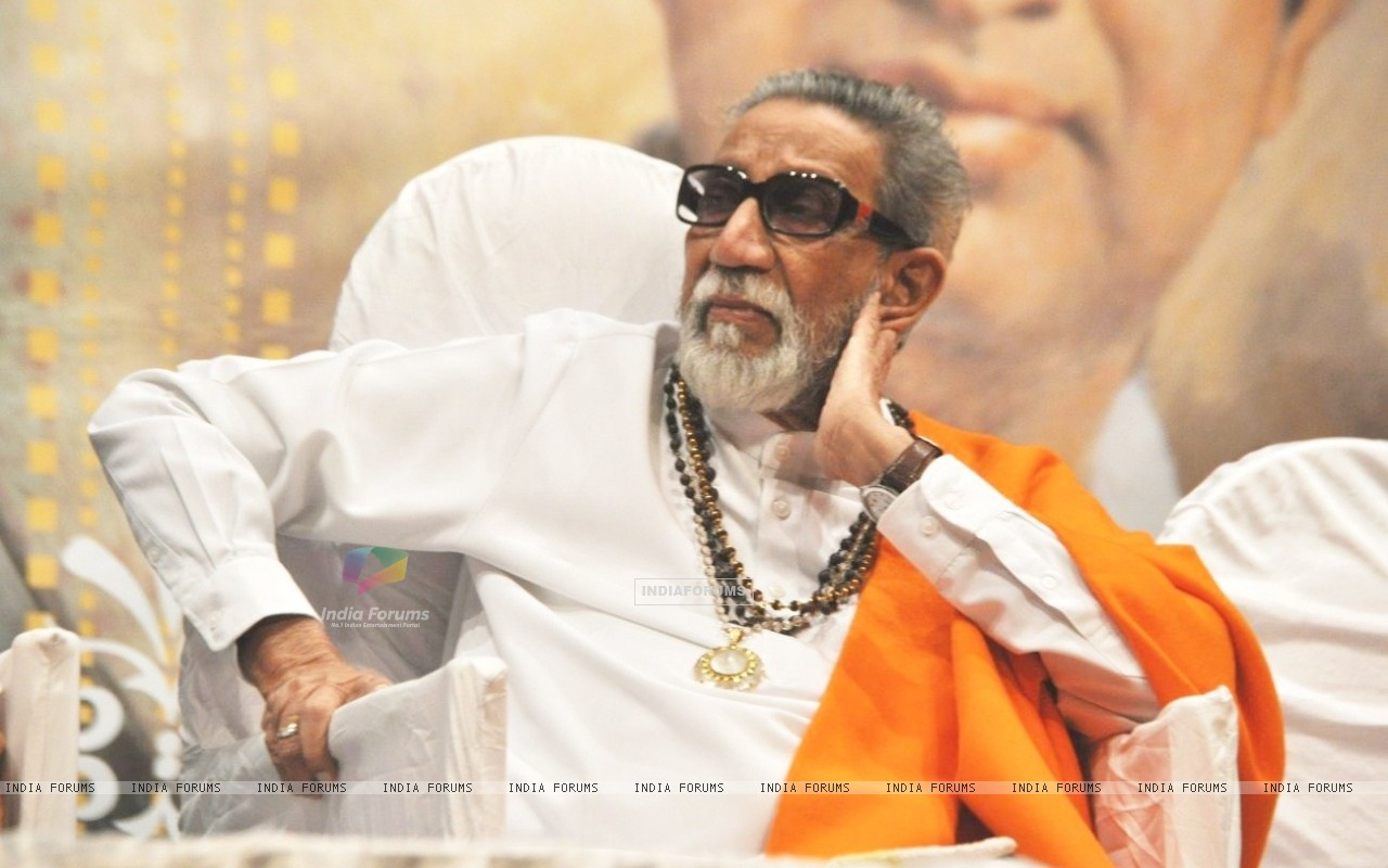 Balasaheb Thackeray at Master Dinanath Mangeshkar Awards 2012 (195376) size:1280x800