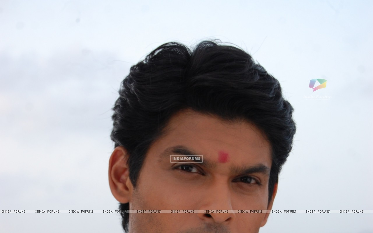 Siddharth Shukla on the sets of Balika Vadhu (199858) size:1280x800