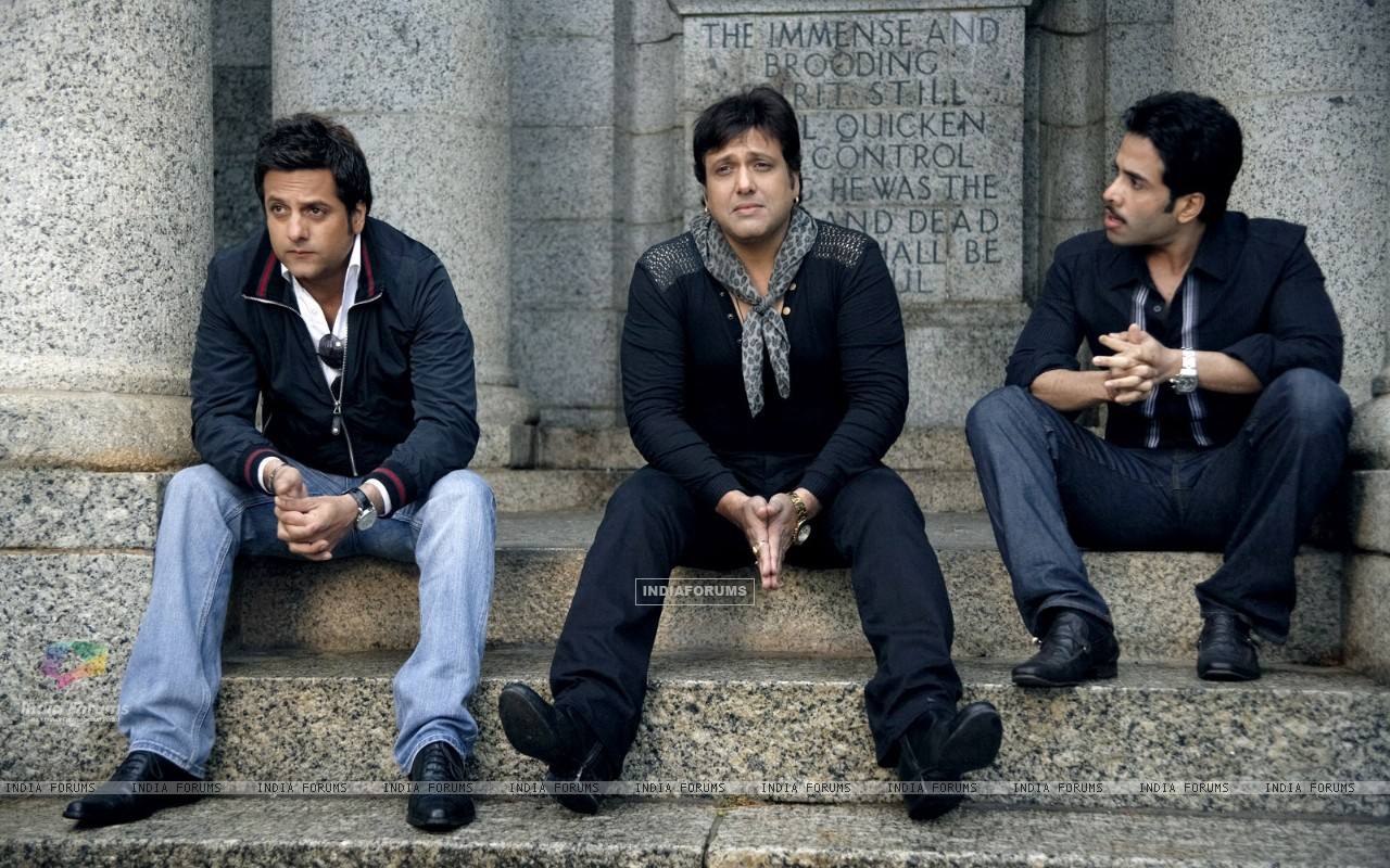 Govinda, Fardeen, Tusshar in movie Life Partner (20429) size:1280x800