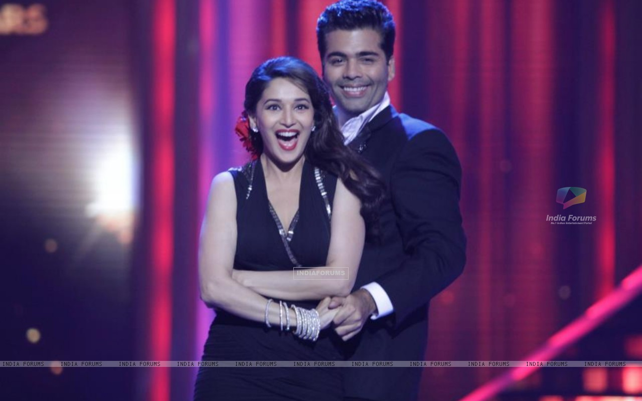 Madhuri and Karan on Jhalak (204620) size:1280x800