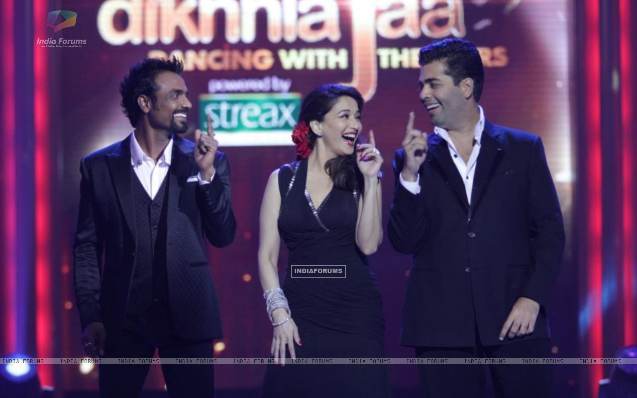 Madhuri, Karan and Remo on Jhalak (204623) size:1280x800