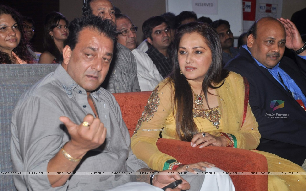 Bollywood actors Sanjay Dutt and Jaya Prada at Blockbuster magazine launch in Novotel, Mumbai. . (211783) size:1280x800