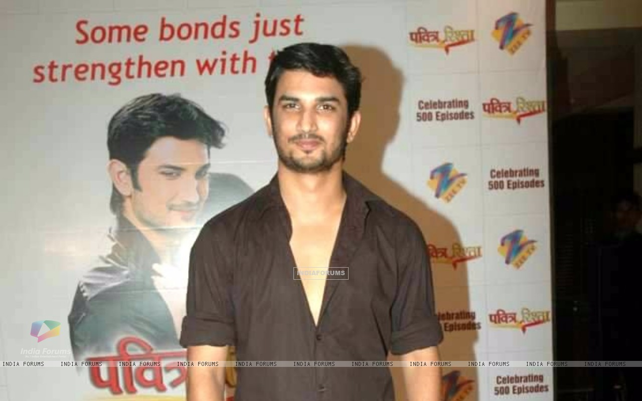 Sushant Singh Rajput At 500 Episode Bash Of Pavitra Rishta (212946) size:1280x800