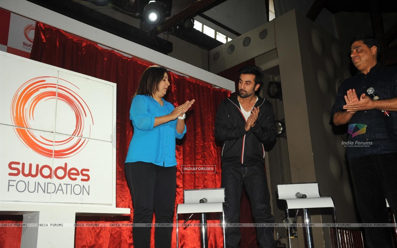 Ranbir Kapoor & Farah Khan unveiled and supported for Swades Foundation (232249) size:1280x800