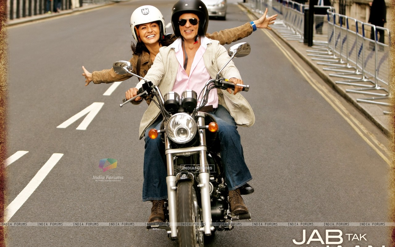Shah Rukh Khan and Anushka Sharma in Jab Tak Hai Jaan (232797) size:1280x800