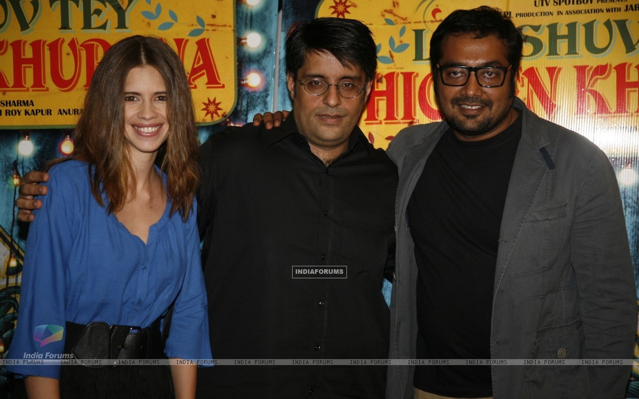 Kalki Koechlin, Anurag Kashyap at Special Screening of Luv Shuv Tey Chicken Khurana (236044) size:1280x800