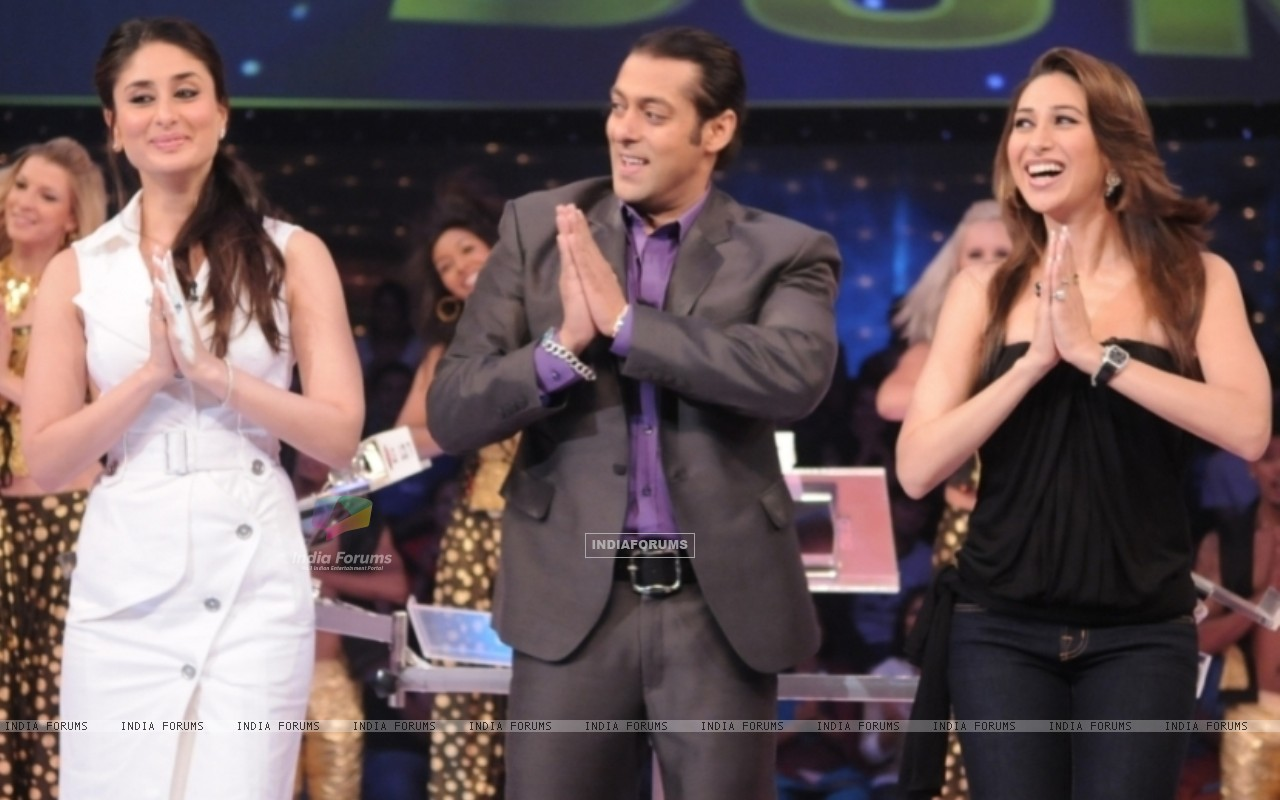 Salman Khan with Kareena and Karishma (37462) size:1280x800