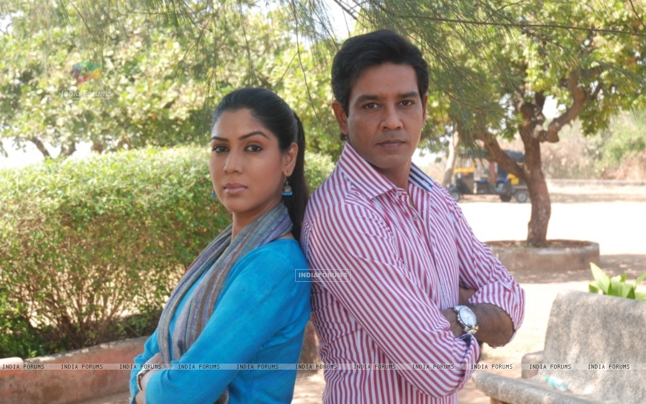 Anup Soni and Saakshi Tanwar in tv show Crime Patrol (56393) size:1280x800