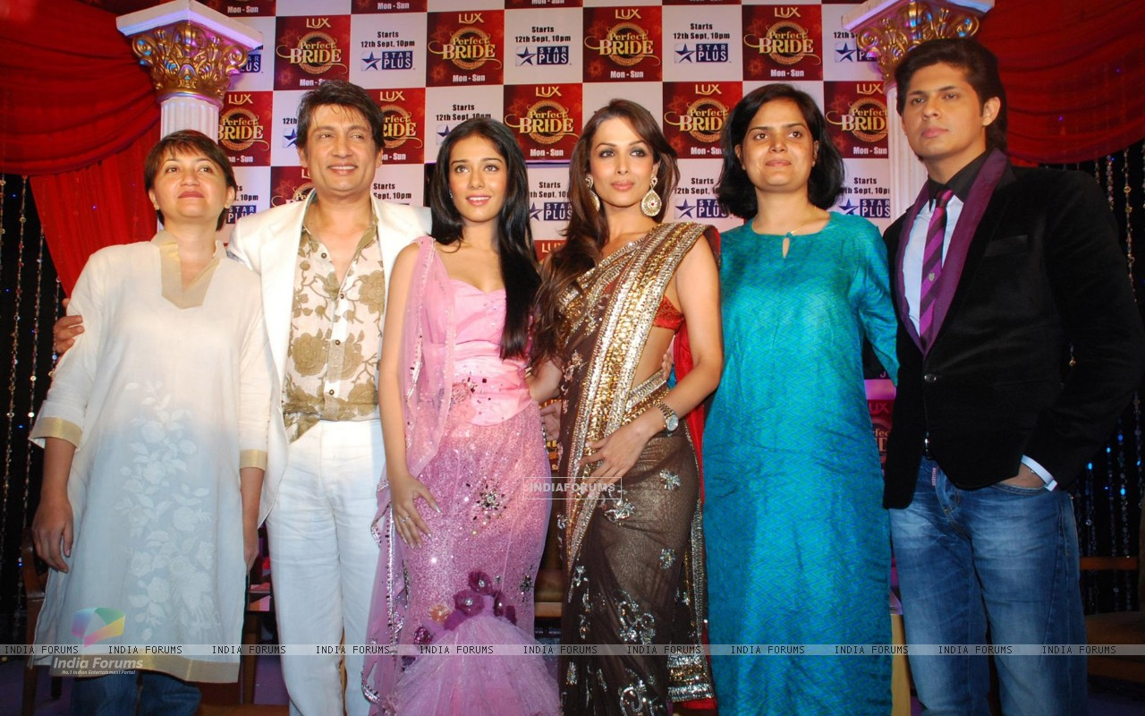 Amrita Rao, Mallaika and Shekhar Suman at the launch of Perfect Bride (79538) size:1280x800