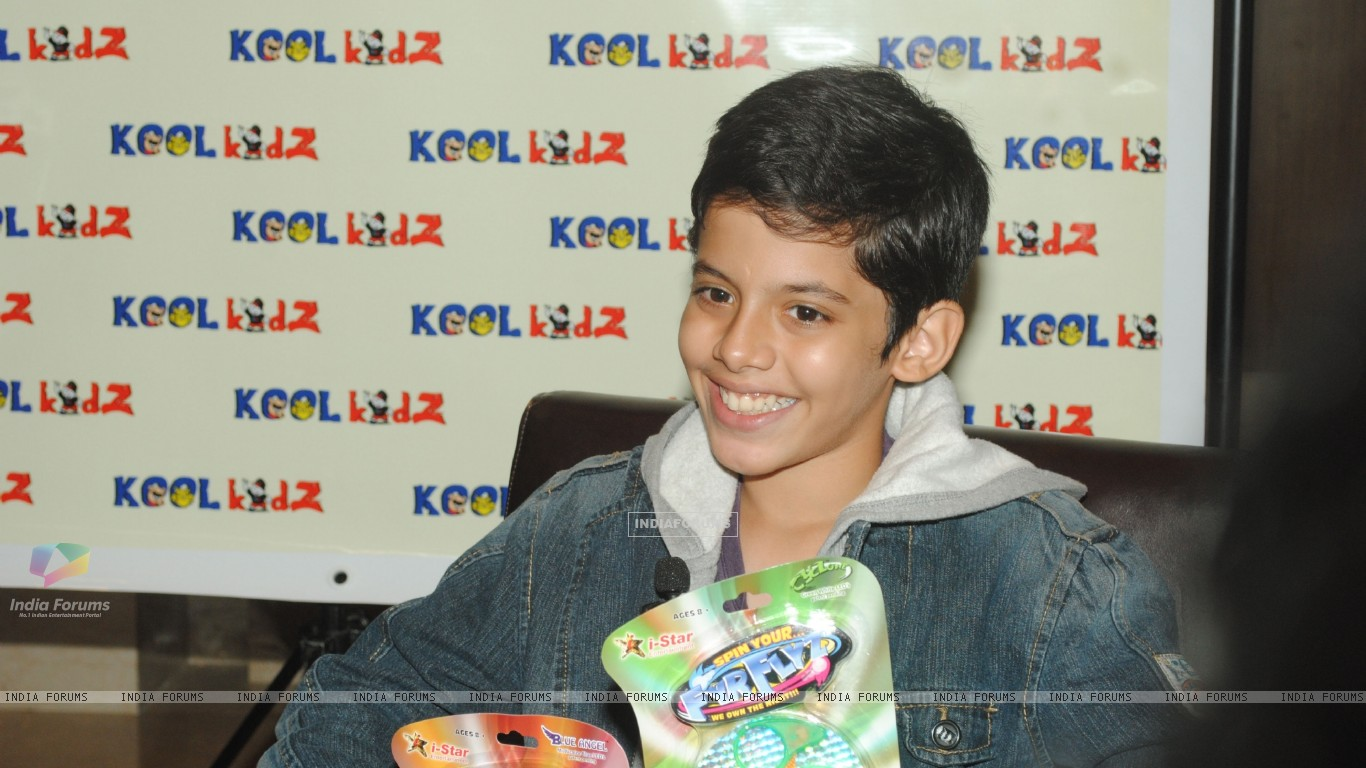 Darsheel Safary launches  FyrFlyz by Kool Kidz.  . (153801) size:1366x768